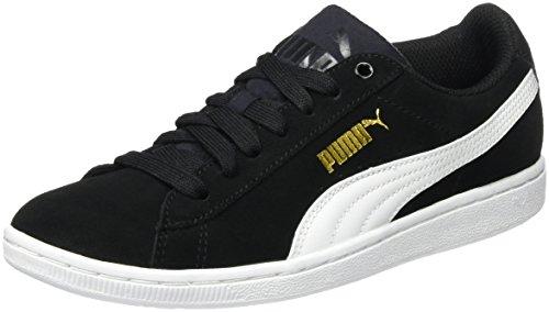 Noir white Femme Basses Vikky Sneakers 02 Puma black q7gI8P7w