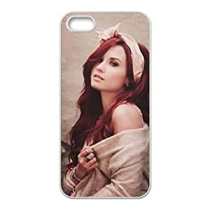 iPhone 4 4S Case White Demi Lovato Cell Phone Case Cover F5Y5IY