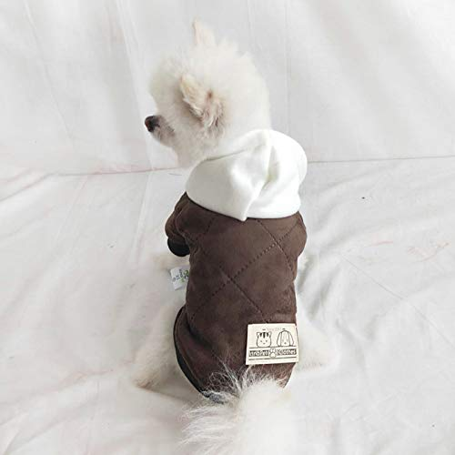 InnoPet Dog Clothes,Hoodie Coat for Small Dogs and Cats,pet Warm Apparel,Dog Outfits,pet Sweatshirt Winter Jacket