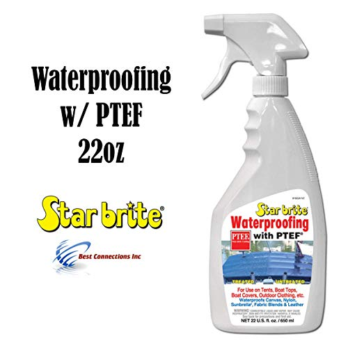 (Star Brite Waterproofing With PTEF 22oz Marine Fabric Cleaning Supply 81922)
