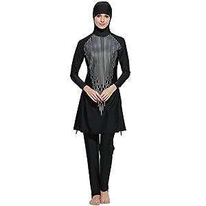 Muslim Swimwear Islamic Full Cover Modest Swimsuit Beachwear Burkini Women