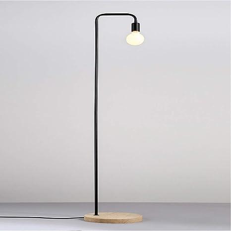 LMDH Lámpara de pie Industrial para Sala de Estar, diseño ...