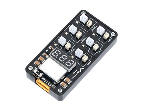 STRIX 1s LiPo Battery Charger - Charge up to 6 batteries at once! Perfect for Inductrix, Tiny whoop, Blade Nano QX FPV, UMX Radian, Champ, UMX T-28, Nighthawk, Whipit