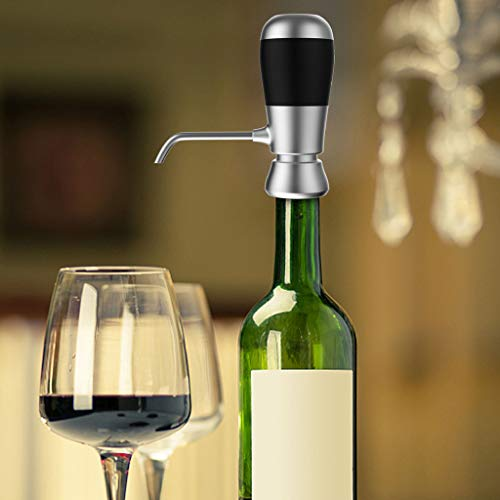 (Tpingfe Red Wine Electric Fast Decanter Bubble Maker Household Party Portable)