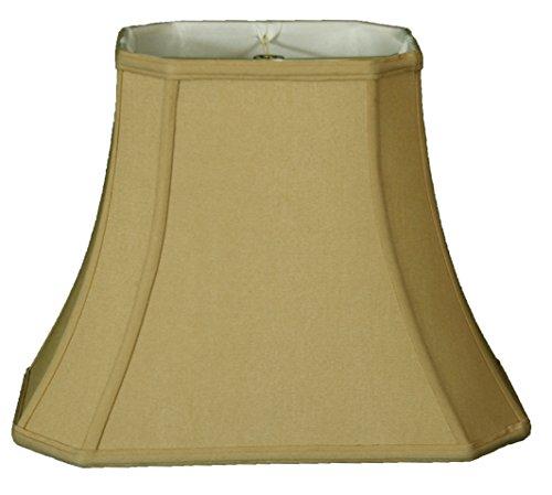 Royal Designs BS-714U-11AGL Inverted Corner Round Top Lamp Shade, 5 x 11.5 x 9.5