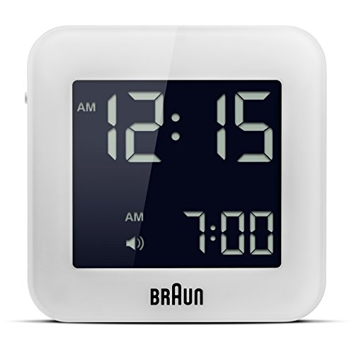 braun digital lcd alarm clock - 5