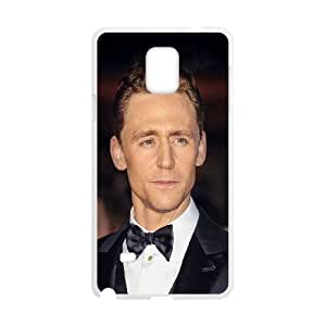 Samsung Galaxy Note 4 Cell Phone Case White Tom Hiddlestone Filme Actor Hollywood Celebrity LSO7890346