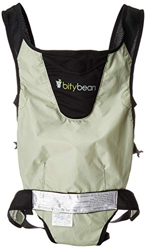 Bitybean Ultracompact Baby Carrier Grey The Glass Baby Bottle