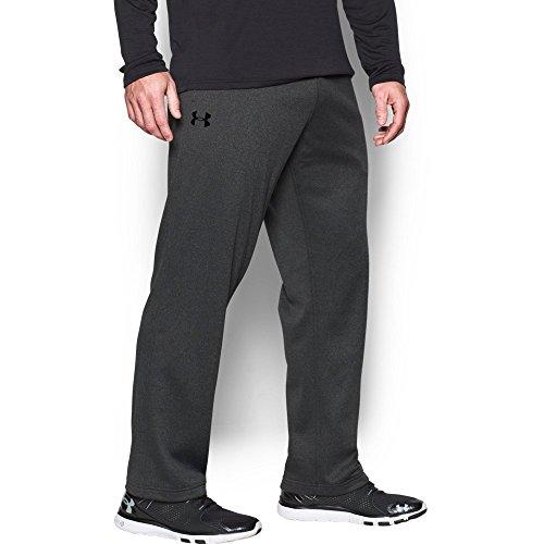 Under Armour Men's Armour Fleece In The Zone Pants, Carbon Heather/Black, (Mens Armour Fleece)