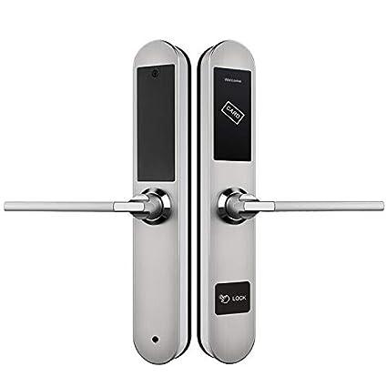 Amazon.com: WMC - Cerradura de puerta con contraseña, sin ...