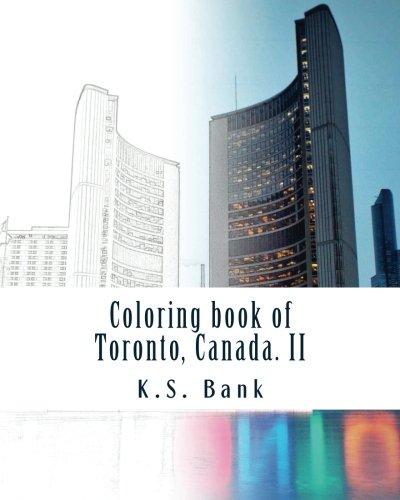 Coloring book of Toronto, Canada. II (Volume 2)