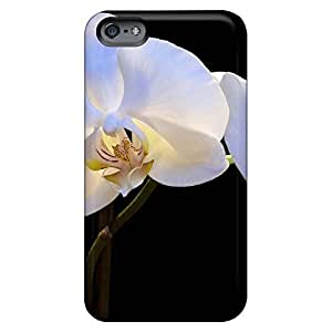 iphone 4 /4s PC phone cover skin skin covers pearly orchids