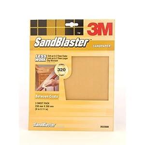 WET AND DRY SANDPAPER MIXED GRIT SAND PAPER FINE//MED//COURSE 10 PACK BLACKSPUR