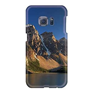 Scratch Protection Hard Cell-phone Cases For Samsung Galaxy S6 (tUt4658xXHx) Allow Personal Design Nice Moraine Lake Banff National Park Skin