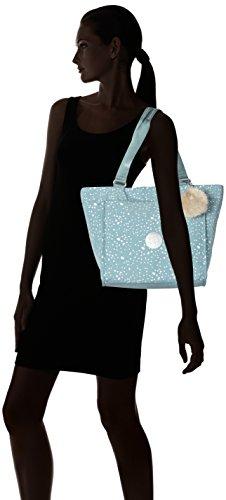 Shopper New Cabas Silver S Kipling Sky Bleu 45vdx4w