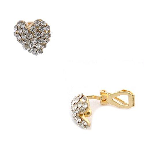 Topjewel Earrings Gold...