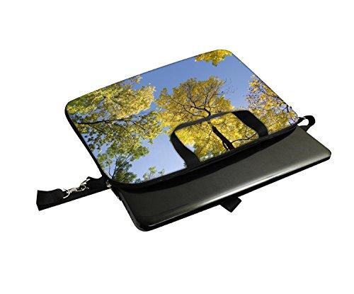 Snoogg Laptop Netbook Computer-Tablette PC -Schulter-Kasten -tragender Hülsen- Beutel-Beutel- Abdeckungs-Schutz- Halter für Apple iPad / Hp Touchpad Mini 210 T100 PS Touchpad Mini t100ta / Acer Aspire yVk9DataG