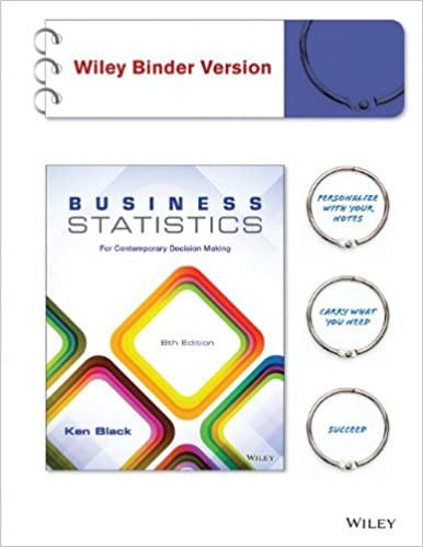 Business Statistics For Contemporary Decision Making 7th Edition Pdf
