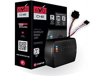 Fortin EVO-CHRT5 Stand-Alone Add-On Remote Start Car Starter System For  Chrysler Dodge Jeep Traingle Metal Key Vehicles