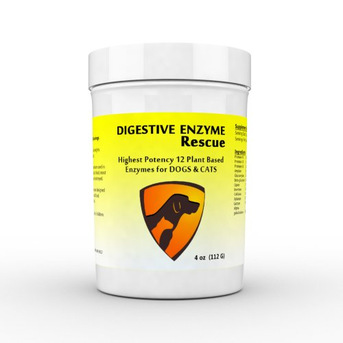 Digestive-Enzyme-Rescue-for-Dogs-Cats--Gas-Relief-Improves-Digestion-Sensitive-Stomach-Itchy-Skin-Allergies-Ear-Infections-Diarrhea-and-Constipation-Best-Plant-Based-Enzyme-Supplement