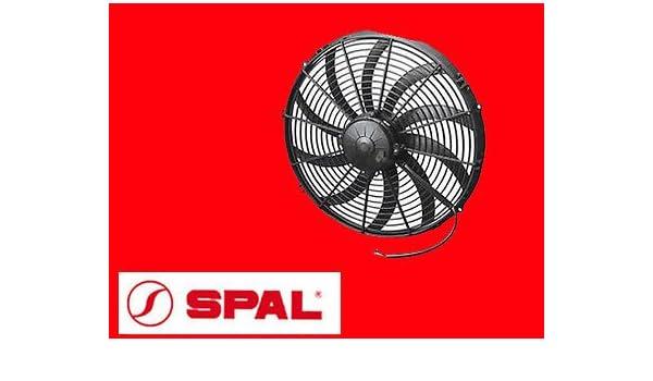 SPAL 30101545 Ventilador va18-ap51/c-42s hoja curva Push: Amazon ...