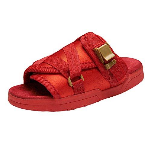 Playa Lxxaunisex Zapatillas Zapatos Sandalias De Vestimenta Red Trekking Verano x7rqIwa57