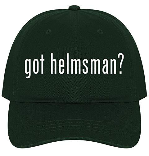 The Town Butler got Helmsman? - A Nice Comfortable Adjustable Dad Hat Cap, Forest
