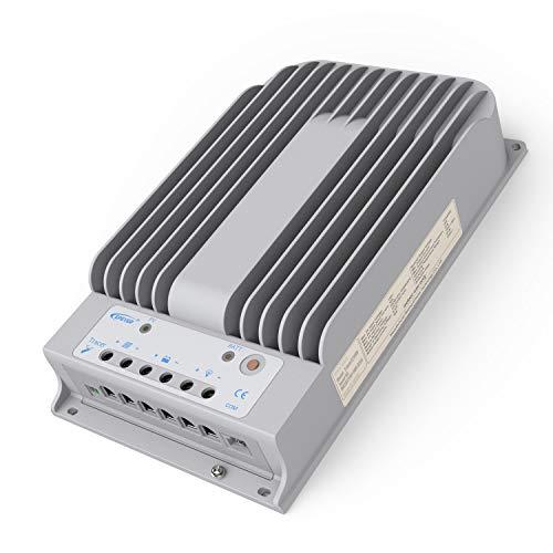 SolarEpic 40A MPPT Solar Charge Controller 150V PV Input Tracer Negative Ground 12V/24V Battery System [Tracer 4215BN]