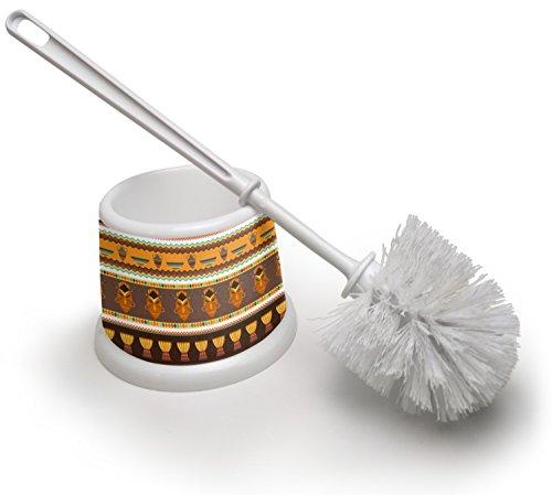 African Stripes Vase (RNK Shops African Masks Toilet Brush)