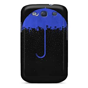 High-quality Durability Case For Galaxy S3(night Umbrella City)