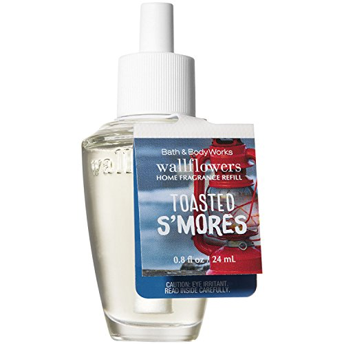 Bath and Body Works Toasted Smores Wallflowers Home Fragrance Refill 0.8 Fluid Ounce