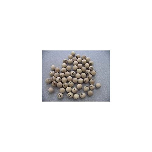 Wooden Bingo Balls (75 per ()