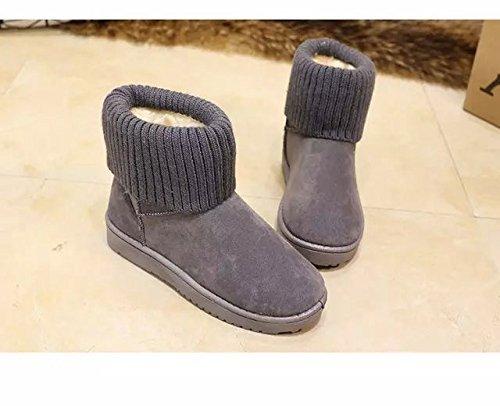Not100 Sneakers In Nappa Lavorata A Maglia Smerigliata Con Fodera Girocollo In Pelliccia Bordata Di Pelliccia Di Volpe Nera