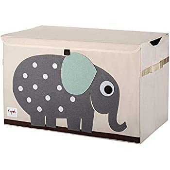 Amazon Com Large Collapsible Canvas Toy Box Baby
