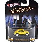 FOOTLOOSE Volkswagen Beetle Yellow Bug Hot Wheels Retro