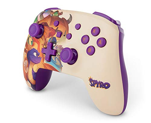 PowerA Enhanced Wireless Controller for Nintendo Switch - Spyro 7