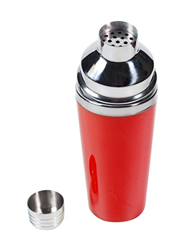 Tempo 16oz Cocktail Shakers by True, Red