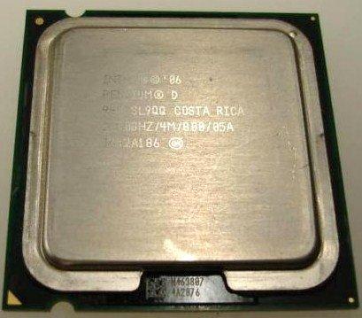 SL9QQIntel Pentium D 945 3.40 GHz 800MHz 4MB (Intel Pentium 4 Lga775 Package)