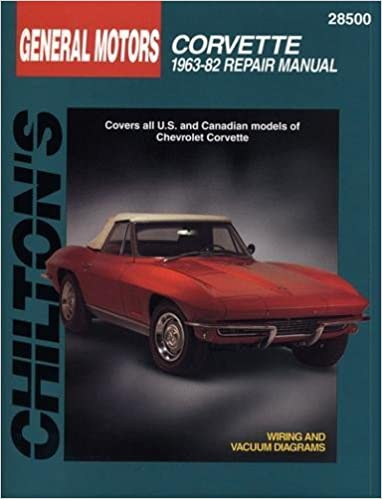 Chevrolet Corvette 1963 82 Chilton Total Car Care Series Manuals