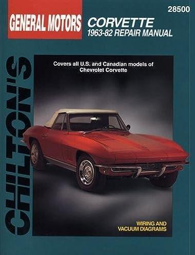 chevrolet corvette 1963 82 chilton total car care series manuals rh amazon com 1964 Corvette Corvette 1965