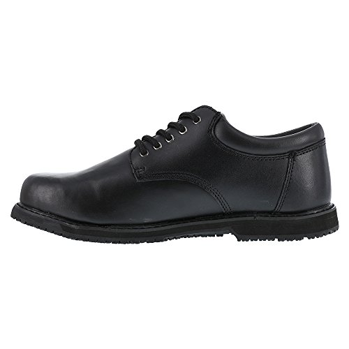 Shoes Black Grabbers Oxford Resistant Friction Black Toe Plain Slip Women's UwzrOAz6q0