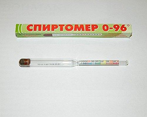 (Alcohol 0-96°) Spirtometer, Alcoholmeter,