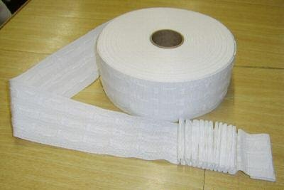 Great Value White 3 Pencil Pleat Heading Tape 2 Metres by Tape