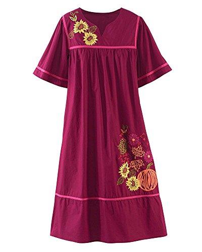 3x house dress - 4