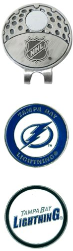 NHL Tampa Bay Lightning Cap Clip With 2 Golf Ball Markers - Nhl Golf