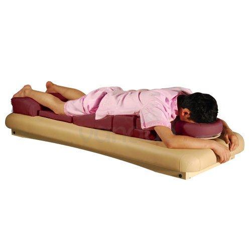 Royal Massage Deluxe Prenatal Pregnancy Cushion Set, Burgundy