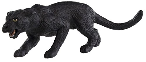 Safari Ltd Wild Safari Wildlife – Black Panther – Realistic Hand Painted Toy Figurine Model – Quality Construction From Safe and BPA Free Materials – For Ages 3 and Up