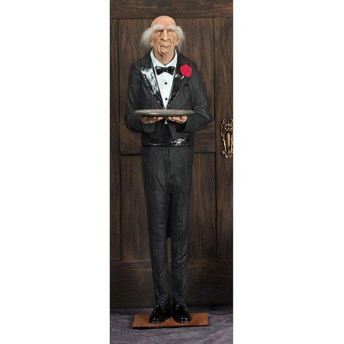 6' Dobson The Butler Halloween Prop ()