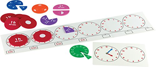 Learning Resources About Time - Telling The Time & Understanding Elapsed -