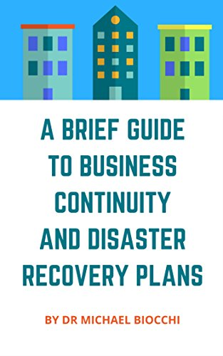 AmazonCom A Brief Guide To Business Continuity And Disaster
